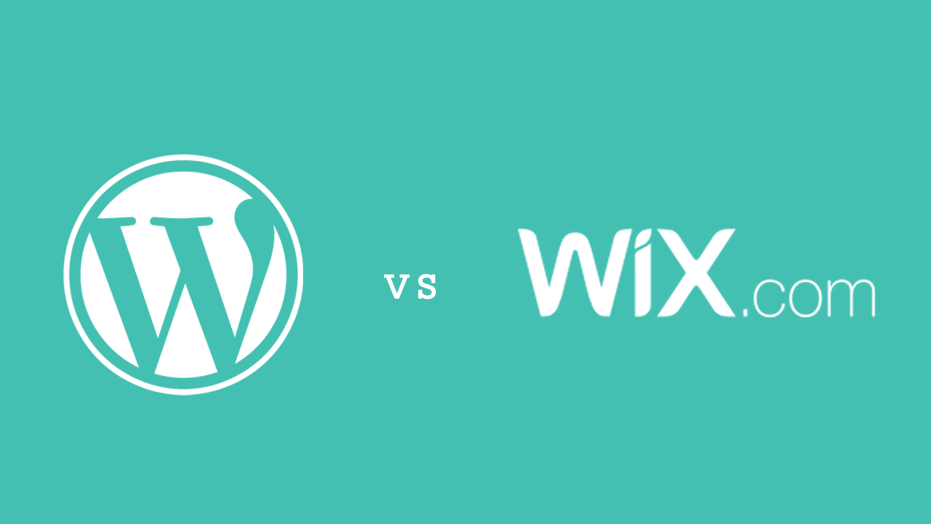 WordPress vs Wix.com